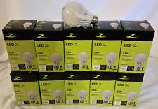 Sale 10 bulb LED 60W A19 Dimmable Soft White (2700K) Zenaro