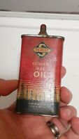 EMPTY EARLY (4oz) RARE VINTAGE OLD SKELLY GENERAL USE OIL TIN CAN HANDY OILER