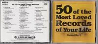50 of the Most Loved Records of Your Life - CD 1984 25 Tracks  Record No.1