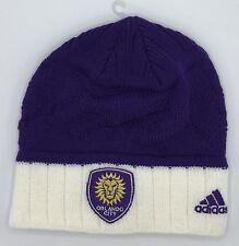 a83e3875744c MLS Orlando City SC Adidas Womens Cuffless Knit Hat Cap Beanie Style #KX23W