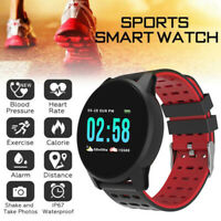 Sport Wireless Smart Watch Camera Blood Pressure Bracelet For Android IOS