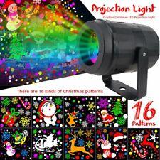 Christmas Snowflake LED Laser Projector Light Landscape Outdoor Xmas Garden Lamp