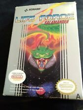 NINTENDO NES - LIFE FORCE SALAMANDER COMPLETE PAL A BOXED GAME