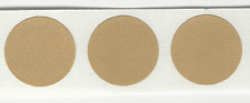 "3/4"" Round Self Adhesive Target Pasters, 2 boxed rolls of 500 brown"