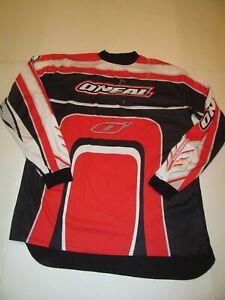 Oneal O'neal Element Men's XL Motocross Dirt Bike Motorcycle Shirt Jersey Red