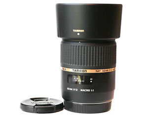 Tamron 60mm DI F/2 Macro Lens for Sony A Mount Cameras