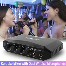 Unique HD-Hynudal Karaoke Mixer Machine for Wireless Mics Sing Online Phones/PC