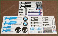 BMW Motorrad Motorsport HP UFO Laminated Decals Stickers Kit
