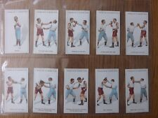 BOXING -  FRANKLYN DAVEY & CO  - Complete Set of 25 - 1924 - EX/EX+