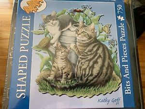 NEW Bits and Pieces 'Maggie & Kittens by Kathy Goff 750 pc jigsaw puzzlesealed