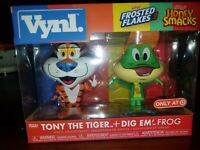 Funko Vynl Ad Icons Tony The Tiger And Dig Em Frog