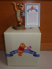 """Tigger Pooh and Friends """"Ta-ta For Now"""" Porcline figurine"""