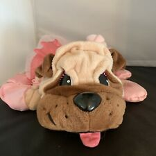 Pound Puppies - Puppy Dreams - Fawn Pug in Pink Tutu and Booties