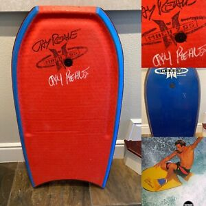 VINTAGE MOREY BODYBOARD: Signed JAY REALE MACH 7 SS