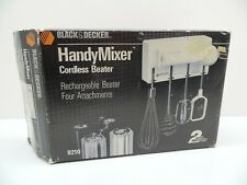 New NOB Complete Black & Decker Handy Mixer Rechargeable Cordless Beater, 9210