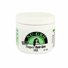 Nu Gro Super Hair Gro Oil 4oz for Thinning Hair or Balding Heads