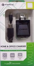 New Genuine High Quality Force Home & Office Charger With Sync & Charge Cable 5W