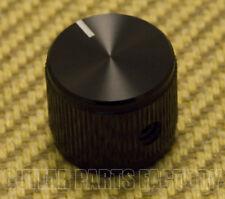 "K-HIFI-B HI-FI Style Black Anodized Aluminum Grip Knob 1/4"" Shaft Guitar/Bass"