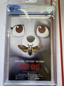 Stray Dogs #1 Comic🔥🔥CBCS 9.8! Horror Homage Cover B! OPTIONED 1st Print!