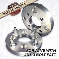 "x2 USA | ATV 3/4"" Honda Kawasaki Suzuki Wheel Adapters Spacers | 4x110 to 4/110"