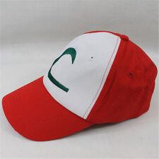 1x Anime pokemon ASH KETCHUM trainer costume cosplay hat cap US SHIP