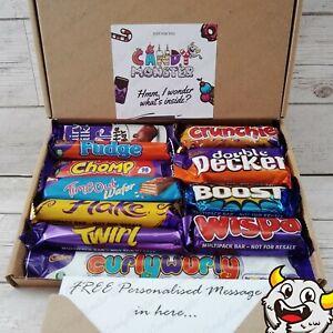 CADBURY Chocolate Hamper Gift Box Present Birthday Personalised Twirl