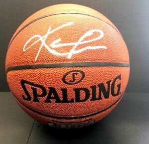 Kevin Love Autographed Basketball Signed Spalding NBA Cleveland Cavaliers JSA