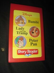 Story Reader REPLACEMENT CARTRIDGE ONLY Bambi Lady & Tramp Peter Pan NEW