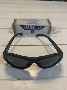 Babiators Aviator ages 3-5 Black ops Black Kids Sunglasses Shades UV Protection