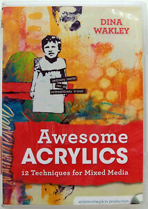 Awesome Acrylics - 12 Techniques for Mixed Media (DVD)