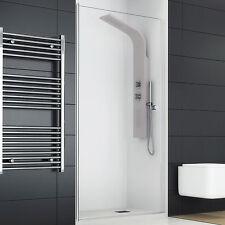 Box doccia 70 cm anta singola porta battente per nicchia cristallo temperato new