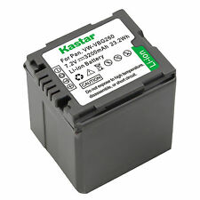 1x Kastar Battery for Panasonic VW-VBG260 HDC-SD9 HDC-SD10 HDC-SD100 HDC-SD20