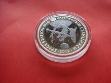Kazakhstan 500 tenge Space Station MIR 2012 Proof Tantal+Silver