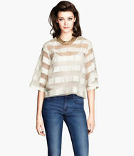 H&M Striped Tops & Blouses for Women