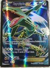 Lotto carte Pokemon RAYQUAZA EX 104/108 XY FURIE VOLANTI FULL ART FA MEGA M