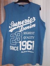 George 100% Cotton Sleeveless Boys' T-Shirts & Tops (2-16 Years)