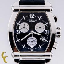 Charriol Geneve Tonneau Stainless Steel Chronograph Quartz Watch Colvmbvs 060T
