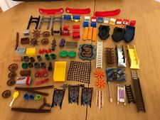 lego accessories bundle job lot, boats chests stairs tools wheels