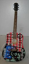 Fender Dreadnought Kozik Punk Age Acoustic Guitar The Future is Stupid 6 string