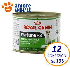 12 confezioni Royal Canin Mini Mature +8 195 gr - Umido cani taglia piccola
