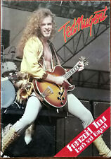 More details for ted nugent frenzoid tour earth and beyond tour programme / poster 1980