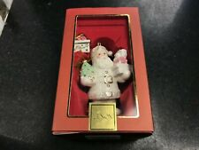 Lenox 791973 Santa's Cheery Christmas Ornament New