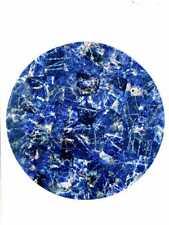 Handmade Semi precious Blue Sodalite Stone coffee table top Home Decorative