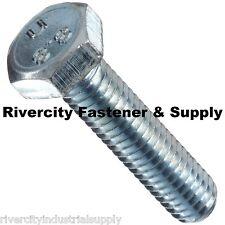 (5) M7-1.0 x 30 or 7mm x 30mm Bolt Hex head Cap Screw grade 8.8 Zinc M7x30