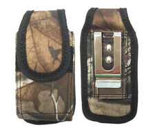 New Universal Rugged Heavy Duty Nylon Pouch Case For Small Flip Phones MetalClip