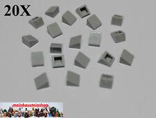 LEGO® City 110 Stück Dachsteine Schrägsteine negativ in neu-hellgrau gray