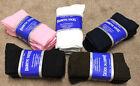 Womens Diabetic Crew Socks Size 9-11 / 5 Colors / buy 6 or 1 pr sample USA