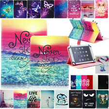 "Universal 10.1"" Inch Tab PU Leather Shockproof Silicone Tablet Stand Case Cover"