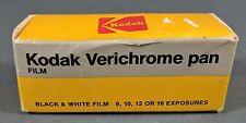 **NOS** KODAK Verichrome Pan Black & White Film VP 120 **EXPIRED**