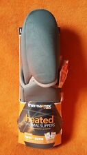 Womens Heated Thermal Slippers - Large 9 -10 ~ 2 Heat Packs Inc. ThermaTec